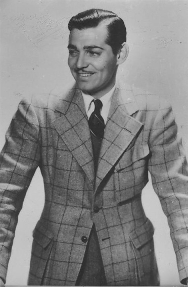 Image result for clark gable suit